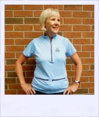 Banksia short sleeve jersey - Blue - front