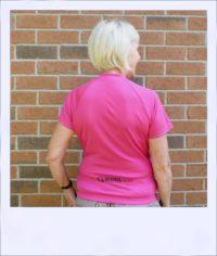 Banksia short sleeve jersey - Blush - rear