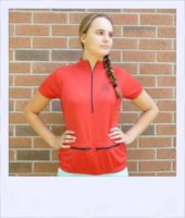 Banksia short sleeve jersey - Red - front