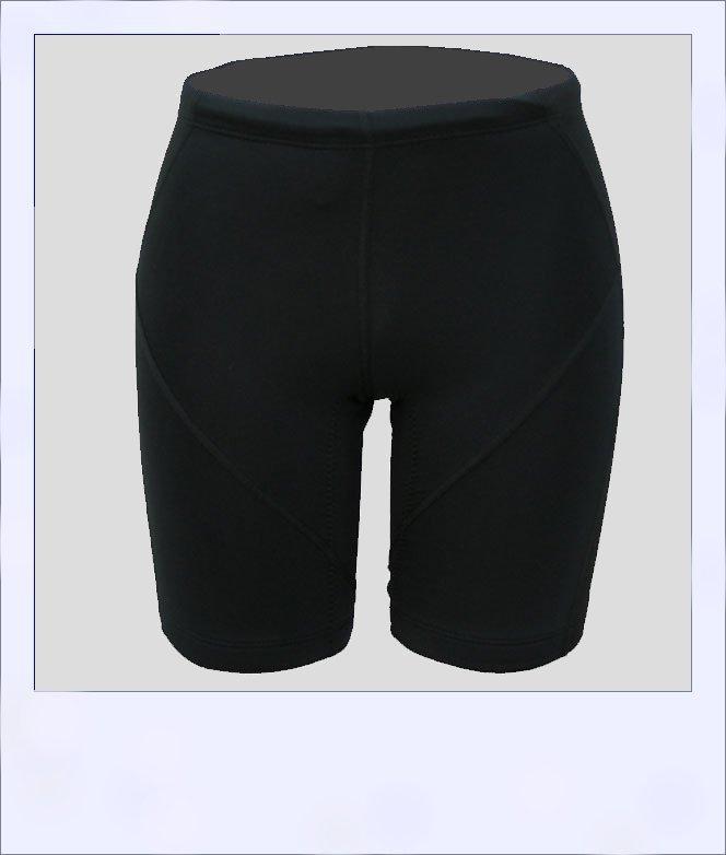 Corkwood women's recumbent shorts Black - front