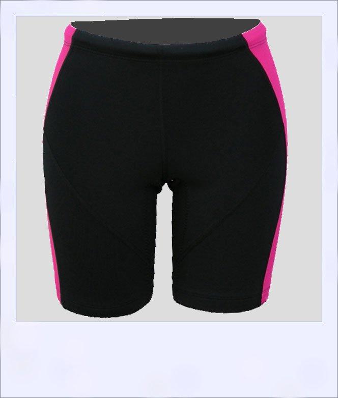 Corkwood women's recumbent shorts Blush - front