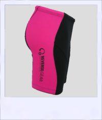Corkwood women's recumbent shorts Blush - side
