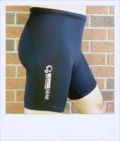 Ironbark recumbent shorts - black - side