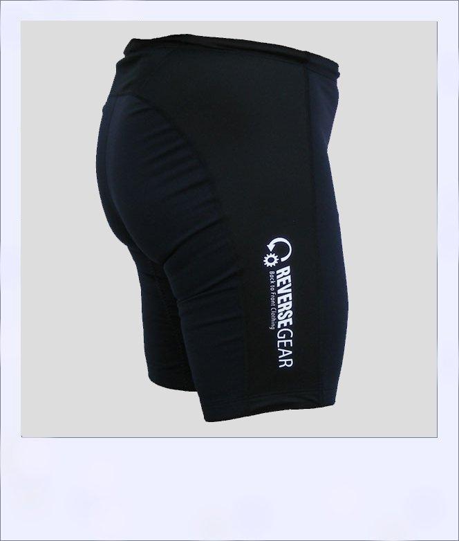Ironbark recumbent shorts - black - side alt
