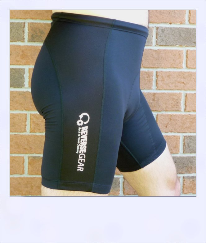 Ironbark recumbent shorts - black - side
