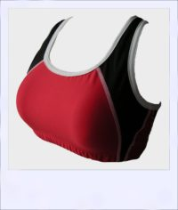 Sheoaksport bra - Red - front