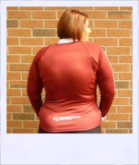Wilga 2 long sleeve jersey - rear