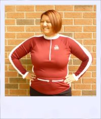 Wilga 2 long sleeve jersey - front