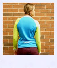 Wilga 3 long sleeve jersey - rear