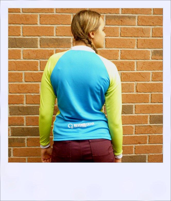 Wilga 3 long sleeve jersey - rear