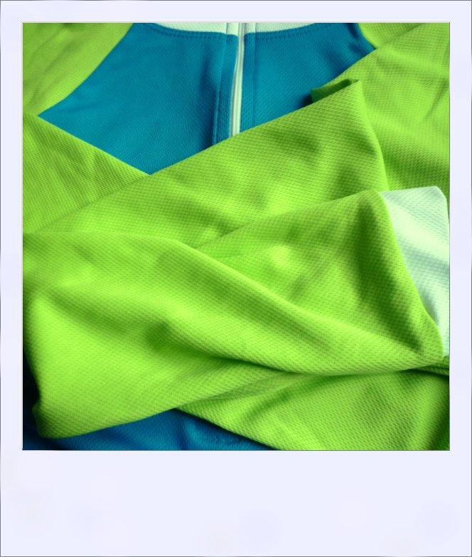 Wilga 3 long sleeve jersey - sleeves close-up