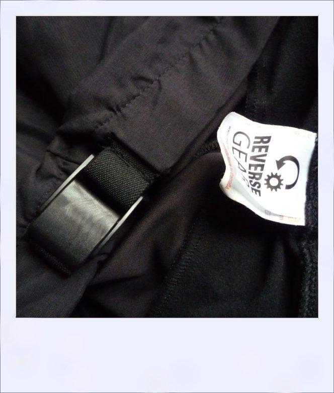 Moonah overpants - belt close-up