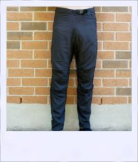Moonah recumbent overpants - front