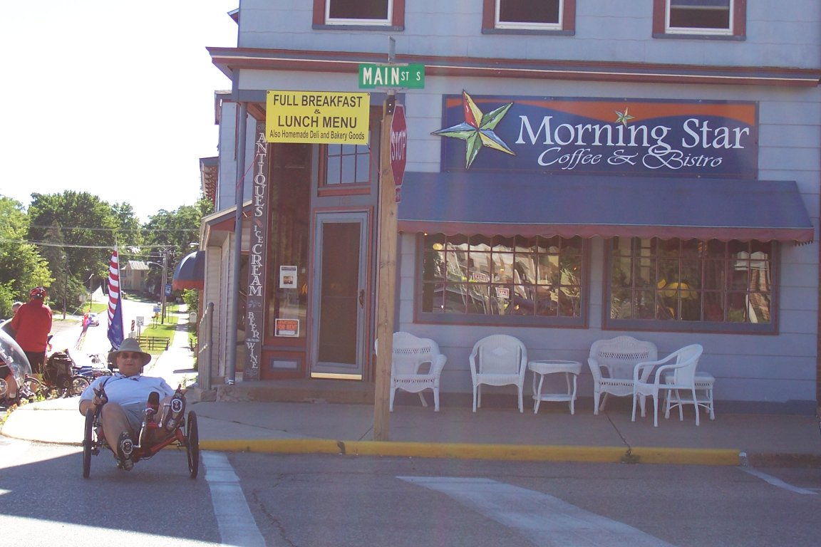 Morning Star coffee shop in Amherst