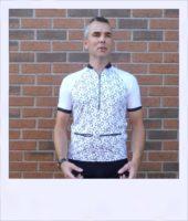 Reverse Gear recumbent cycling jersey - men front