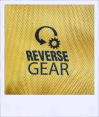 Boab Gold short sleeve recumbent cycling jersey - logo