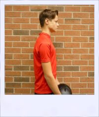 Boab Red - short sleeve cycle jersey - side