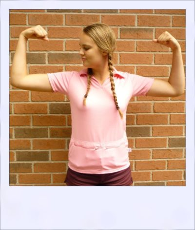 Citrus Market short sleeve cycle jersey - Pink Grapefruit - women - front
