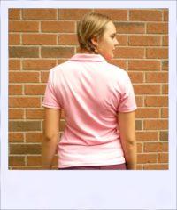 Citrus Market short sleeve cycle jersey - Pink Grapefruit - women - rear