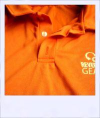 Citrus Market Tangerine medium - men collar close-up