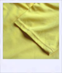 Citrus Market short sleeve cycle jersey - Lemon - women - close-up