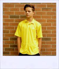 Citrus Market short sleeve cycle jersey - Lemon - men - front