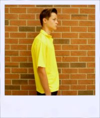 Citrus Market short sleeve cycle jersey - Lemon - men - side