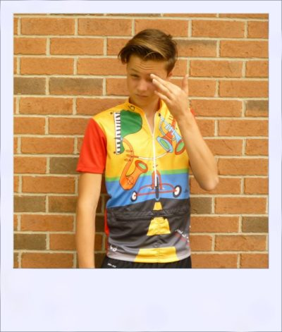 Jazzed short sleeve cycle jersey - front