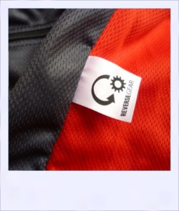 Jazzed recumbent cycling jersey - label