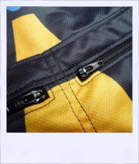 Jazzed recumbent cycling jersey - zips