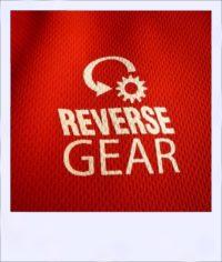 Chevron Mesh short sleeve recumbent cycle jersey - logo