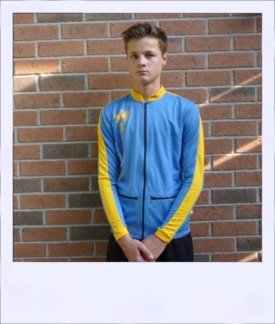 Phoenix long sleeve recumbent jersey - front