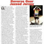 Reverse Gear jersey review in Recumbent and Tandem Rider magazine - image
