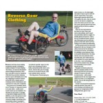 Reverse Gear review in Velo Vision magazine - from issue 47 - image