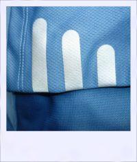 Blue Ash short sleeve recumbent cycling jersey - sleeve