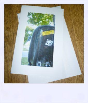 Reverse Gear gift card - I brake for - card