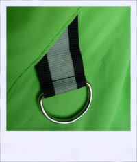 Breeze sleeveless recumbent cycle vest - Green female - ring