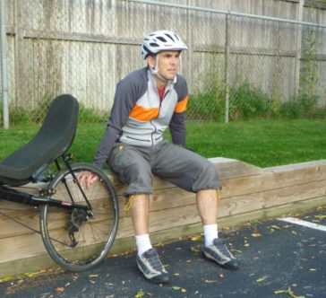 Reverse Gear recumbent short liners - with Silver Maple