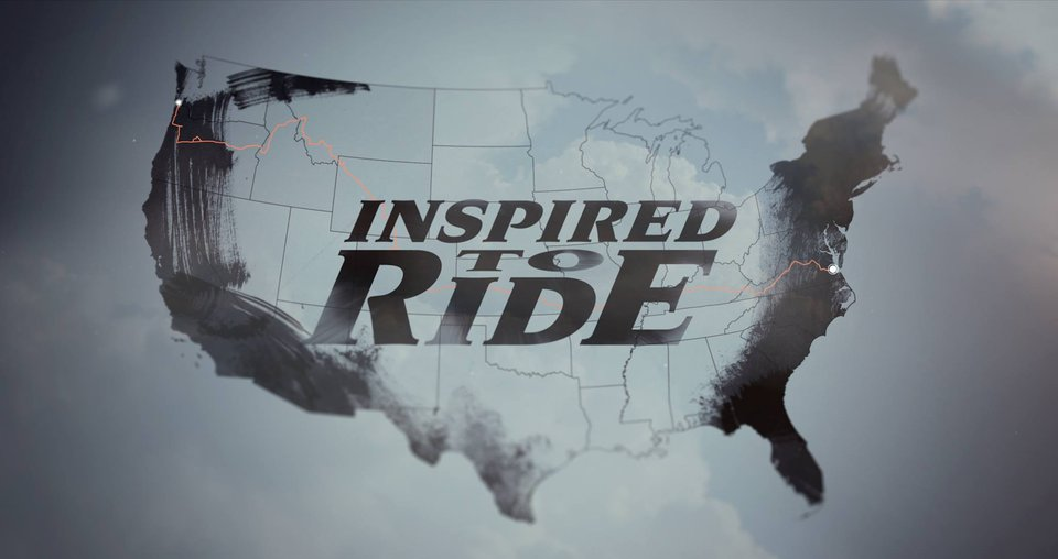 Inspired to ride - map image