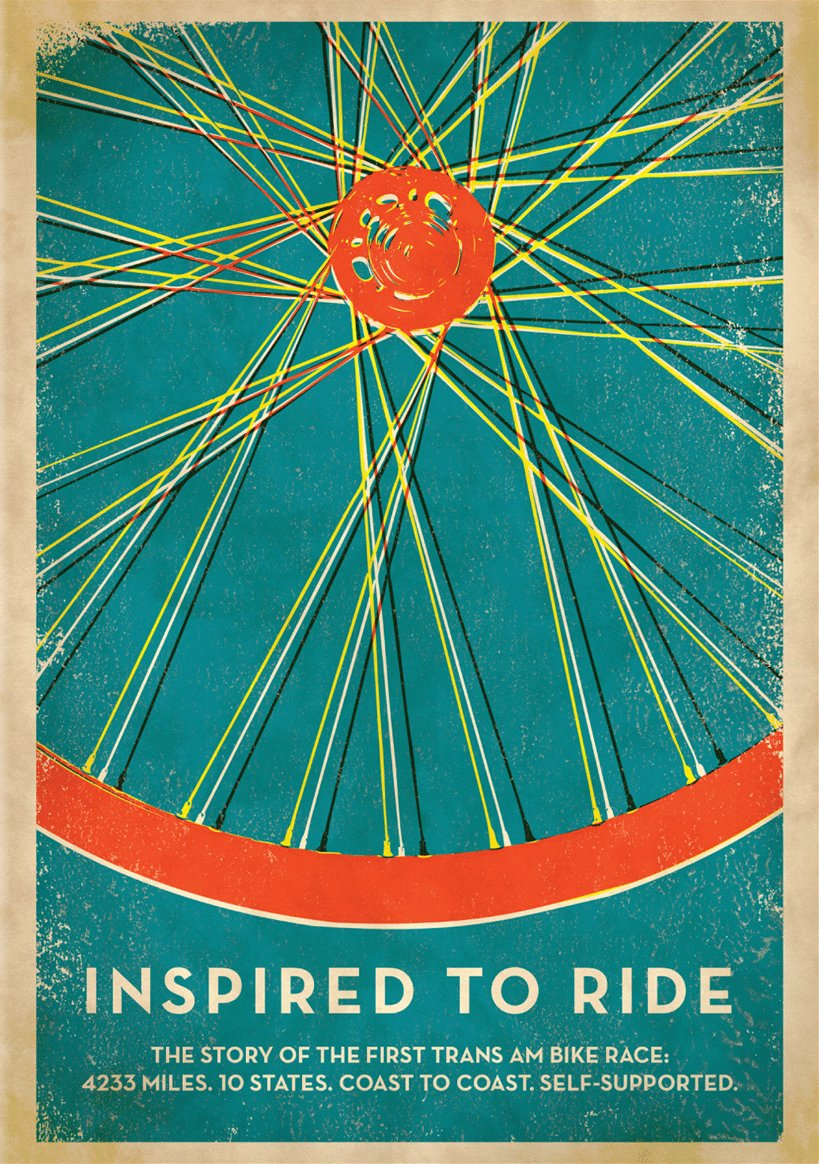 Inspired to ride - poster