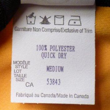 Care label - Chevron and similar