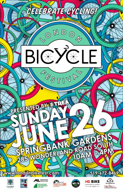 London Bike Festival 2016 - poster