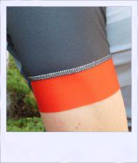 Tupelo short sleeve recumbent men's race jersey - arm band