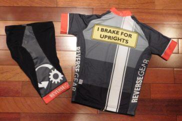 Tupelo recumbent race jersey and shorts - image