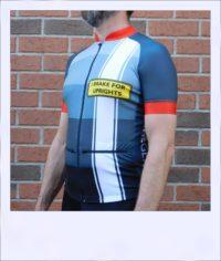 Tupelo short sleeve recumbent men's race jersey - side medium