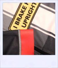Tupelo short sleeve recumbent men's race jersey - sleeve close-up