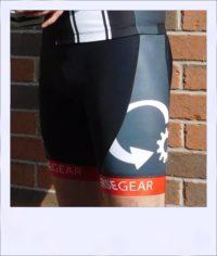 Tupelo recumbent men's race shorts - side