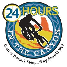 24hrs in the canyon - logo