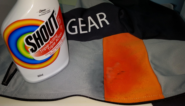 Reverse Gear recumbent jersey - soaking