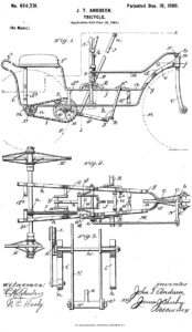 Early patent - Andreen